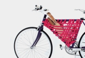 "A brilliant bicycle adaptation: ""Storage within a triangle,"" idea by Yeongkeun Jeong, in collaboration with Areum Jeong"