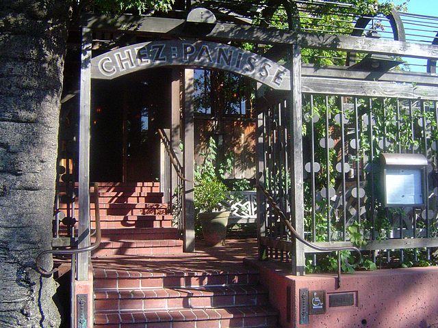 Chez Panisse restaurant, Berkeley, California, by Calton, at Wikimedia