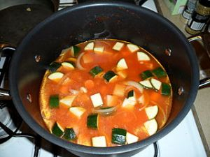 Vegetable Soup, from gran at Wikimedia